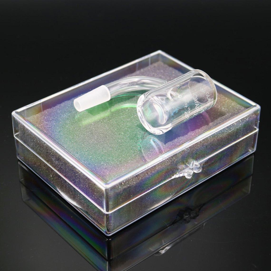 JM Glass CO – 10 mm Male Quartz Banger Sans Maria