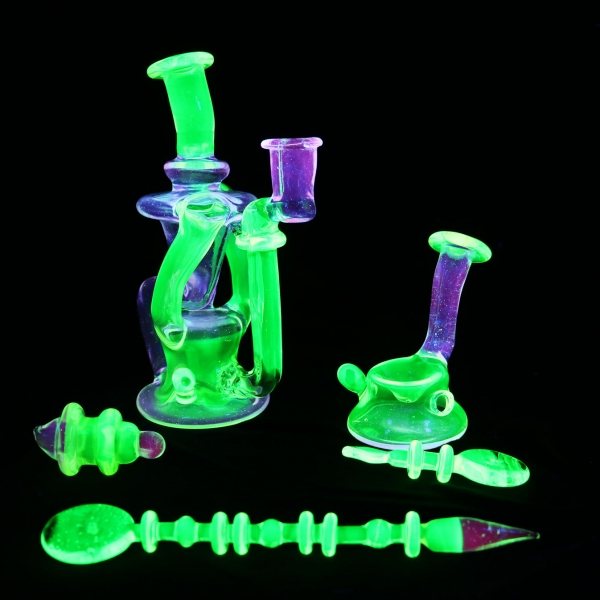 Pop D Illuminati Lucy Double Recycler