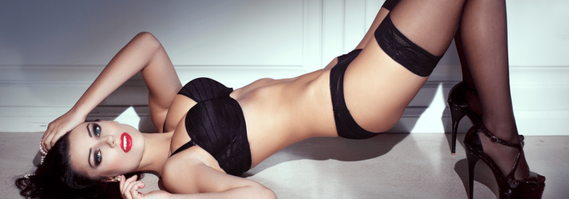 Lingerie and stockings at Sweet Pins