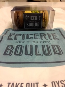 Macarons from Épicerie Boulud in Lincoln Center. House-made, perfect texture, and authentic-tasting flavors.