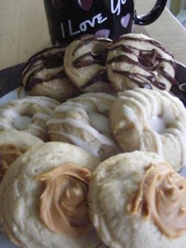 Peanut Butter, Lemon, & Chocolate Chip Shortbread