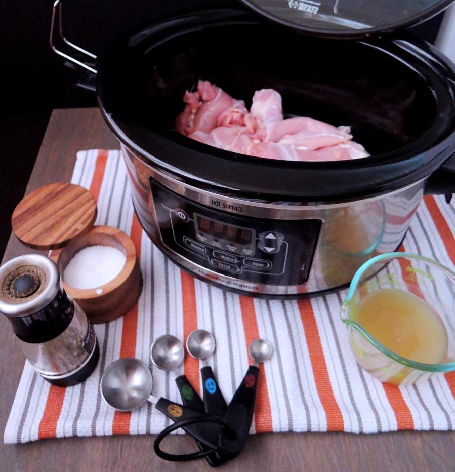 ingredient set up