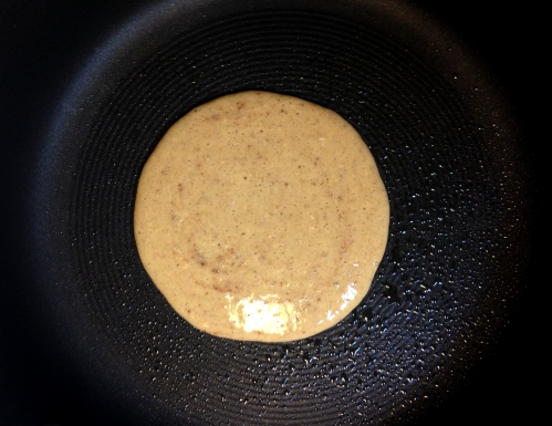 4 ingredient banana pancake.3
