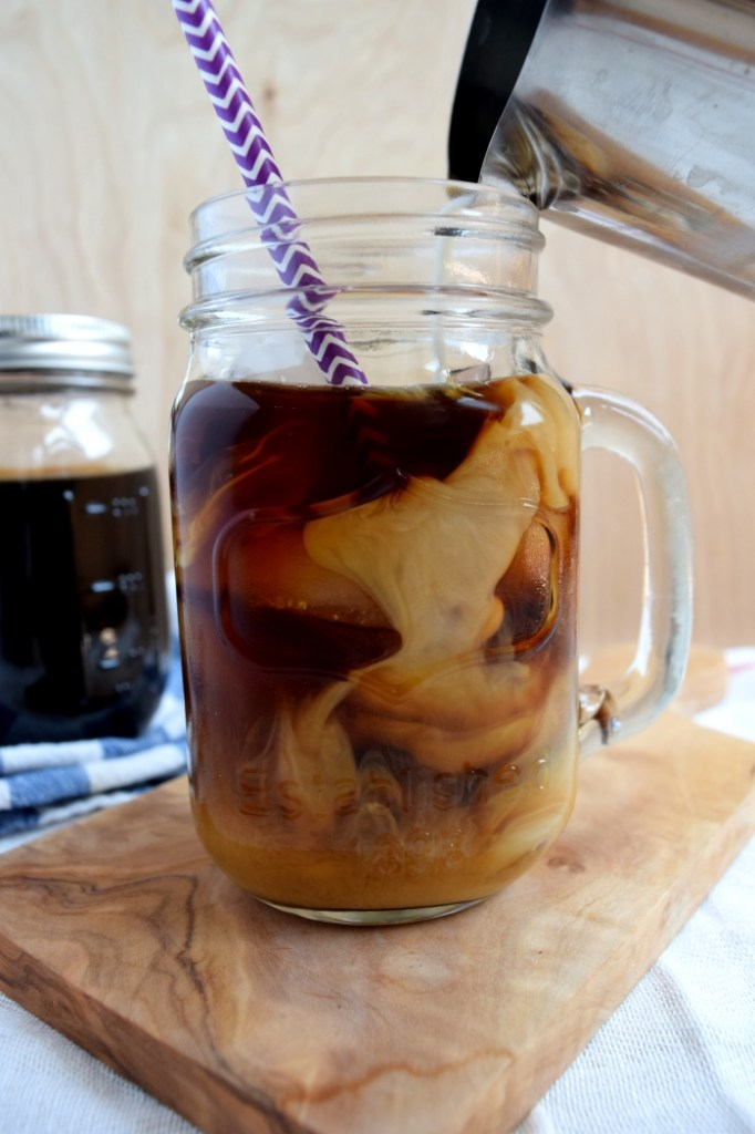 cold-brewed iced coffee.5