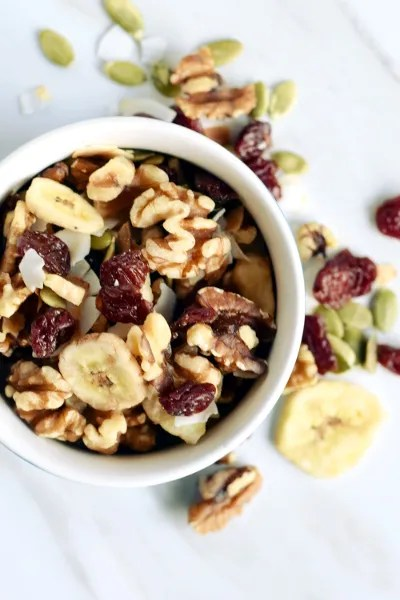 tart cherry walnut trail mix