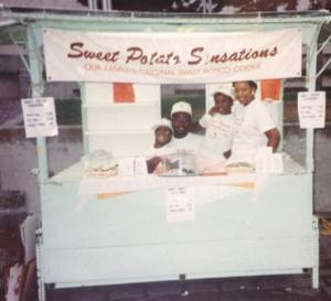 Sweet Potato Sensations, Family Business, Detroit, Detroit Business, Detroit family business, Sweet potato cookies, sweet potato pie, sweet potato tart
