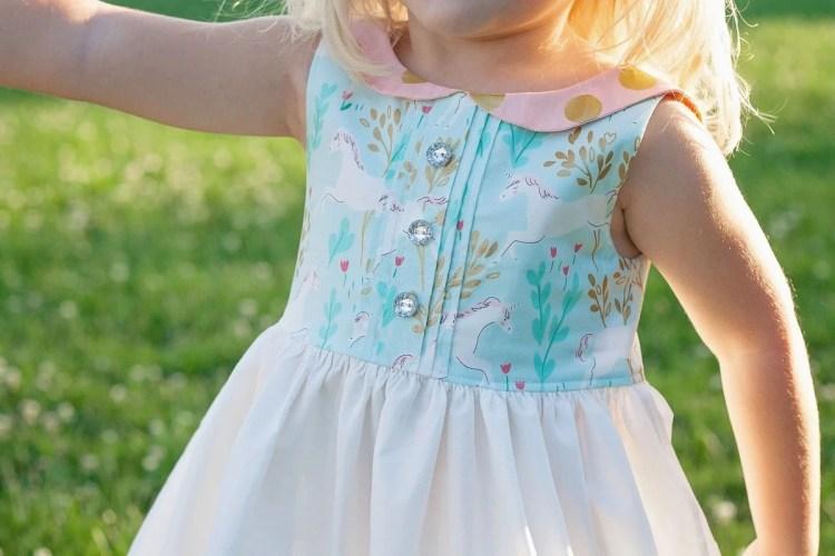 Simple Life Pattern Company Molly Dress PDF Sewing Pattern