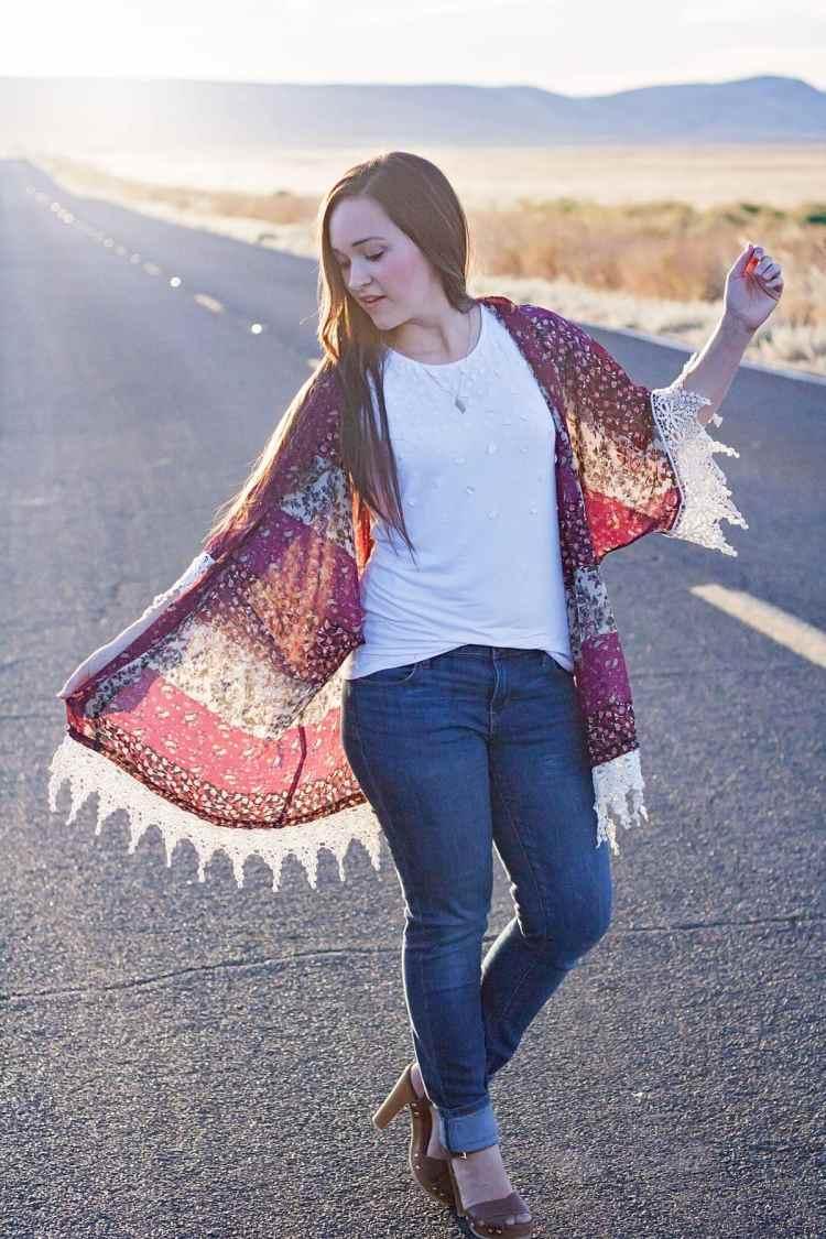 Willow Kimono Designer Stitch PDF Sewing Pattern Michael Levine Fabric