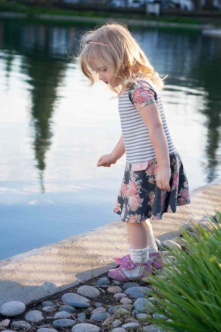 Prism Dress Love Notions PDF Sewing Pattern for Girls