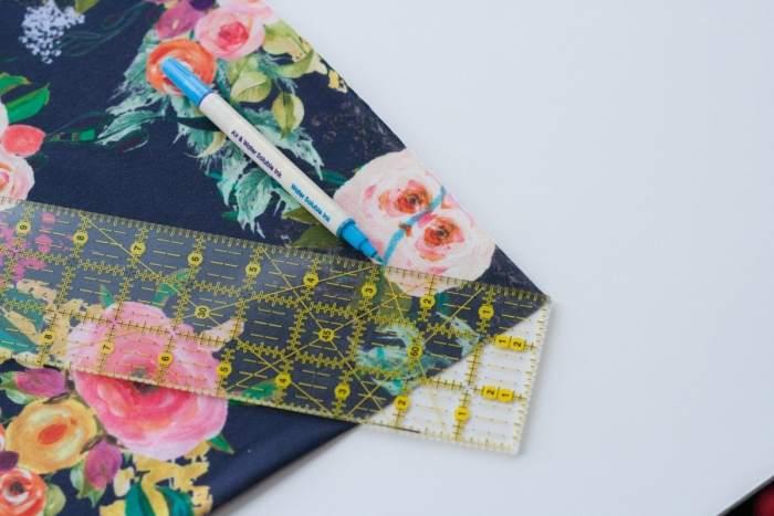 DIY Girls Circle Skirt Sewing Pattern and Tutorial Spoonflower Fabric The Art Werks