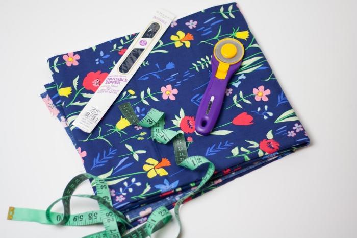 DIY Women's gathered skirt tutorial
