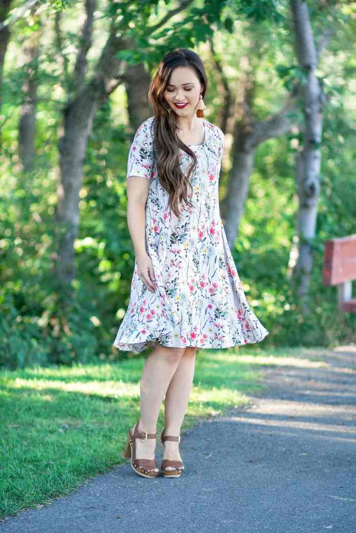 Love Notions Laundry Day Tee Swing Dress Hack Free Sewing Pattern