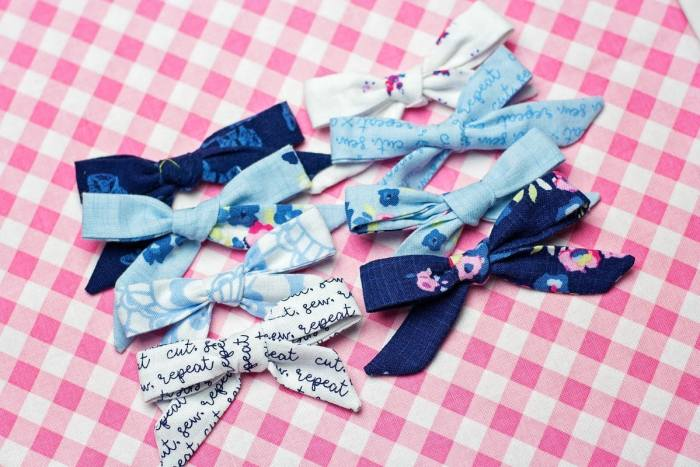 Easy DIY Girls Headband and Bow Sewing Tutorial Sweet Red Poppy