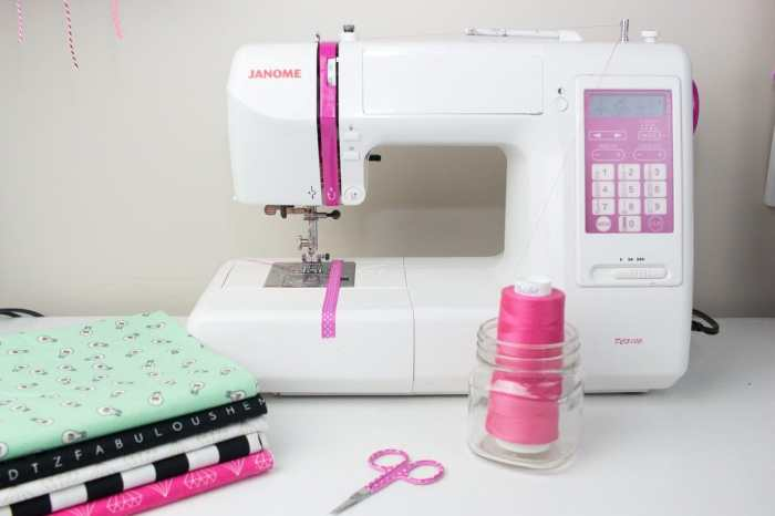 Use serger thread on your sewing machine.