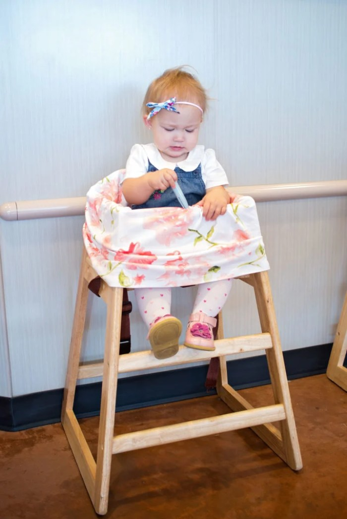 Free Highchair Cover Sewing Pattern