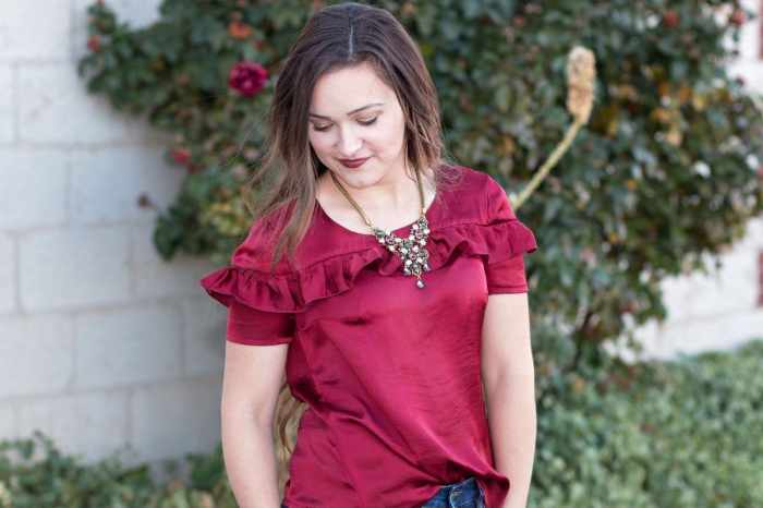 Sorbetto Blouse Free Women's PDF Sewing Pattern