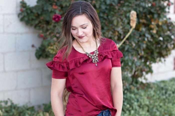 Sorbetto Blouse Free Women's PDF Sewing Pattern