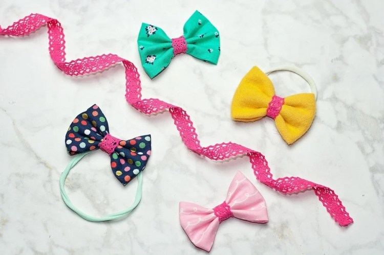 FREE Hair Bow Sewing Tutorial
