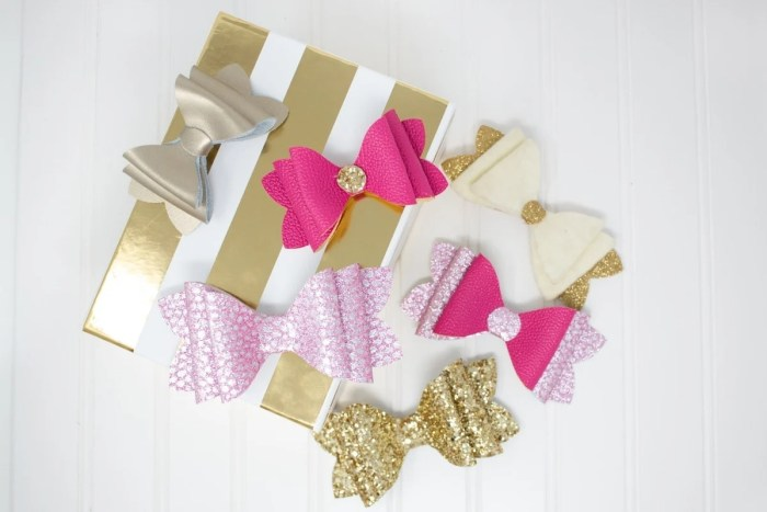 French Bow Girls Hair Bow Tutorial