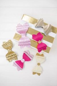 Chunky 3 Layer Girls French Bow DIY & Tutorial