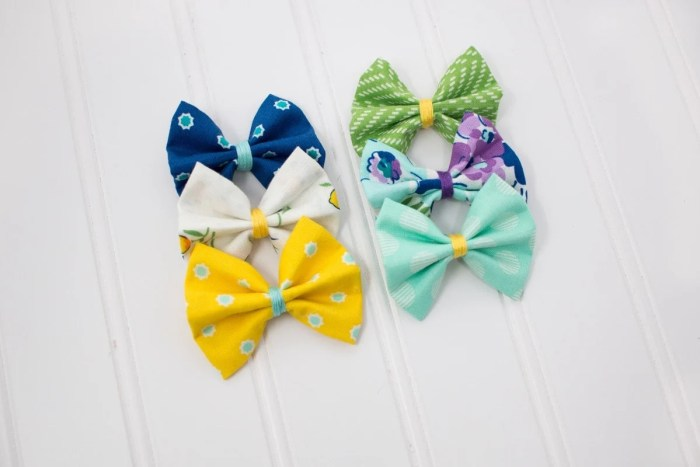 Easy No-Sew DIY Girls Hair Bow Tutorial