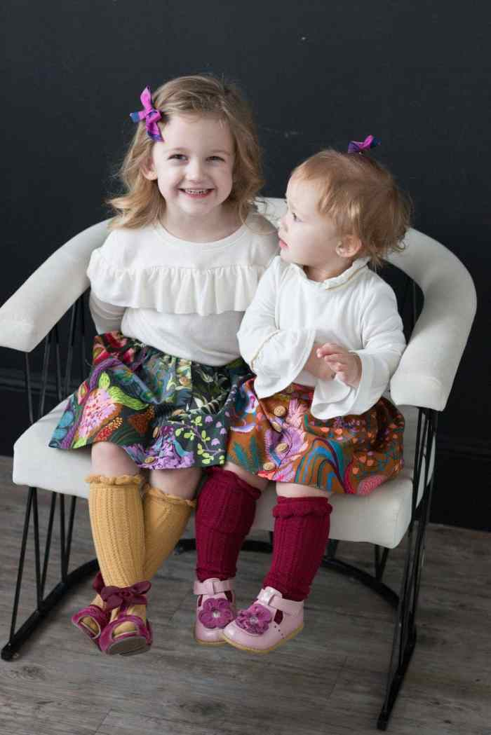 d76fa5ae2 Girls Flat Front Skirt Sewing Tutorial - Sweet Red Poppy