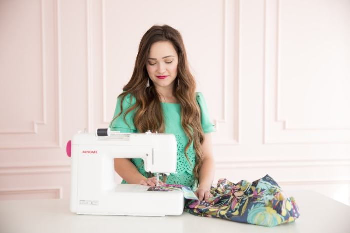 Learn how to sew with this easy beginner friendly sewing tutorial