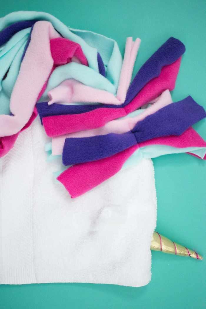 Unicorn Beach Hooded Towel Sewing Tutorial
