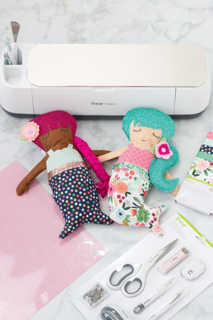 Cut out Simplicity Sewing Patterns with the Cricut Maker.