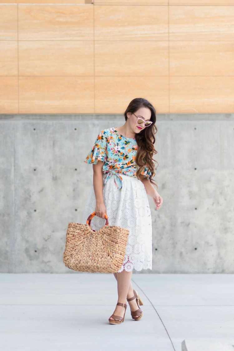 DIY Lace Skirt Sewing Tutorial
