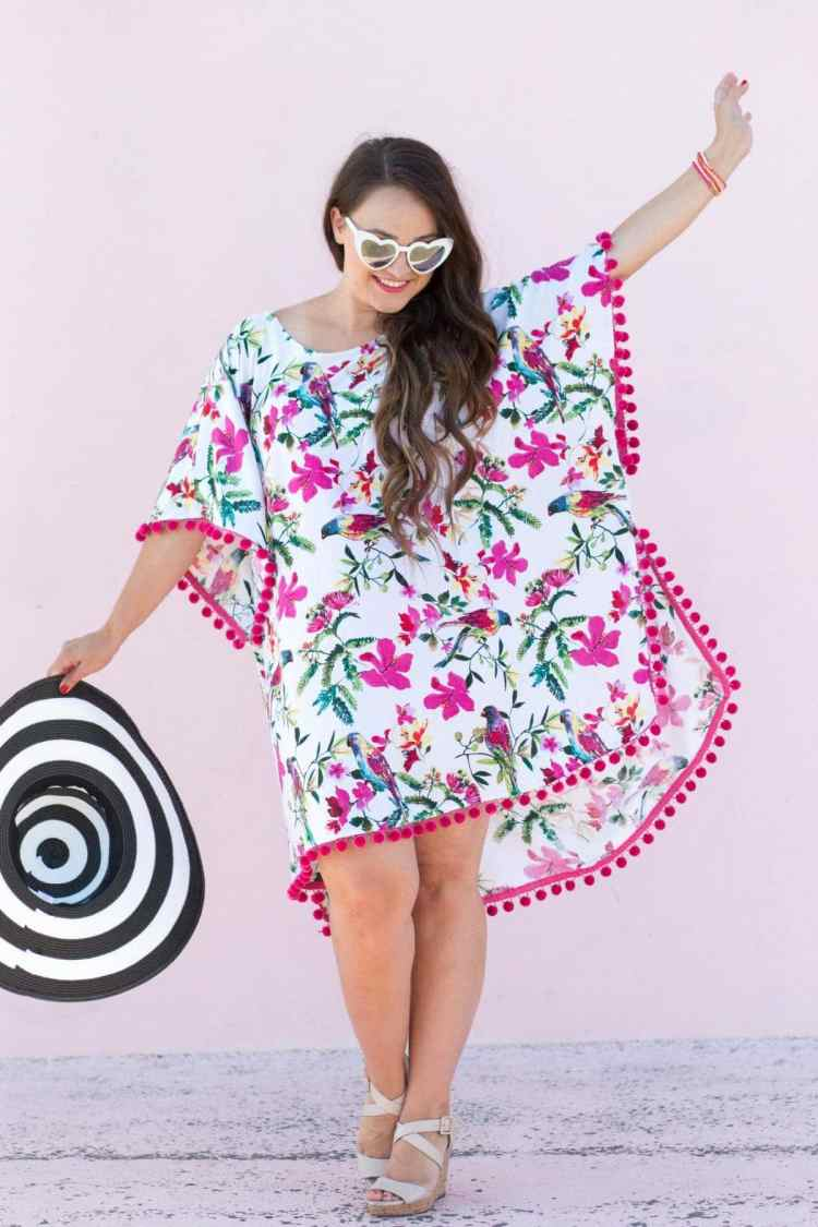 Learn How to Sew an Easy Swimsuit Coverup | JOANN - Sweet