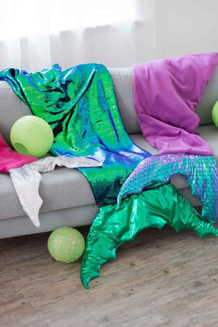 JOANN Fabric Mermaid Blanket Sewing Tutorial