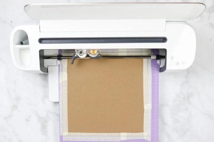 How to cut Chipboard Cricut Maker