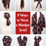 How To Make A Blanket Scarf No Sew Sweet Red Poppy