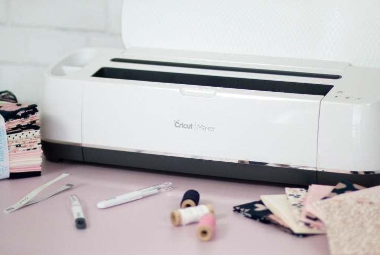 Cricut Maker Cuts Fabric and Sewing Patterns