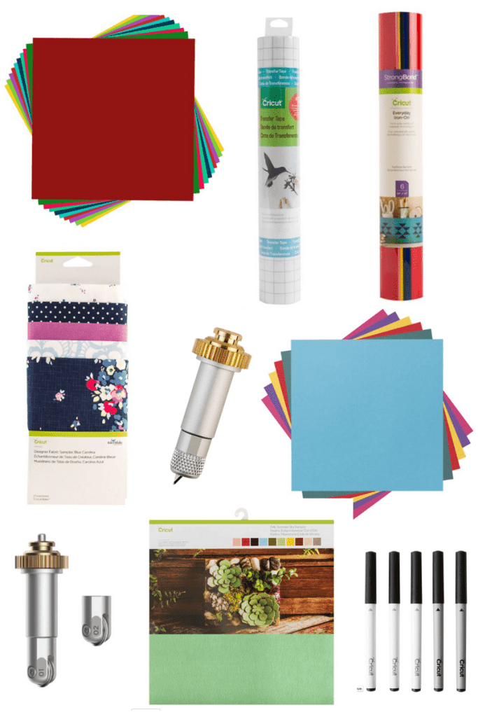 The Supplies you need to get started crafting with your Cricut Machine!