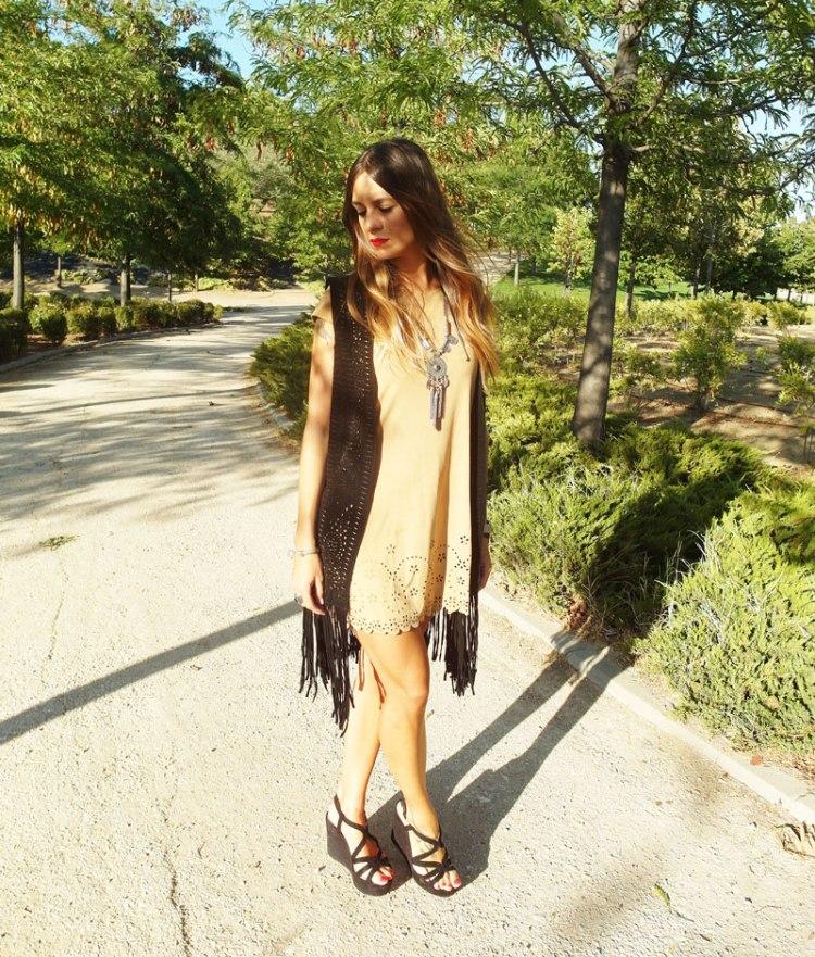 vestido antelina springfield SweeTrendy