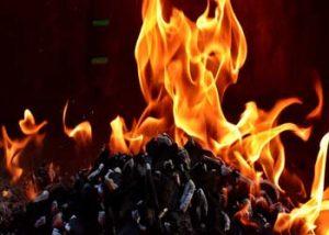 kitchen fire-burns