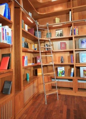 Stainless Steel Rolling Library Ladders Specialty Doors Sweets