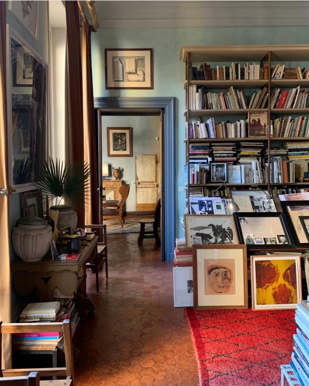 Francois Halard at Home, Arles: 56 Days in Arles