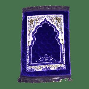 Prayer Mat with Decoration - Purple