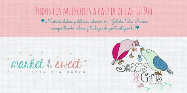 Cartel de Market and Sweets reducido