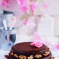 Pastel almendrado chocolate