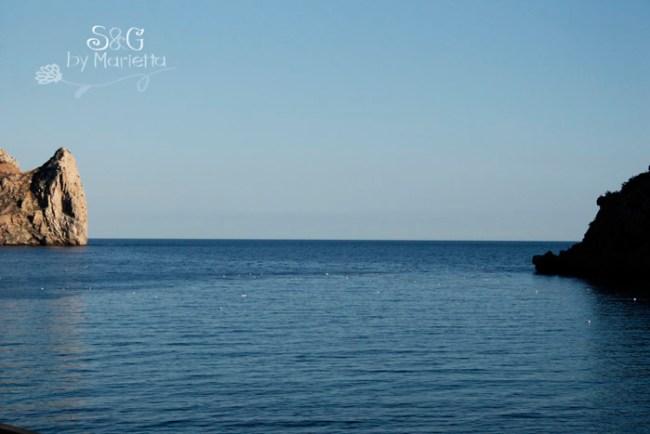Mar y gaviotas
