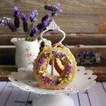 Galletas lavanda, Cookies lavander, Shortbread Lavander biscuits, galletas románticas