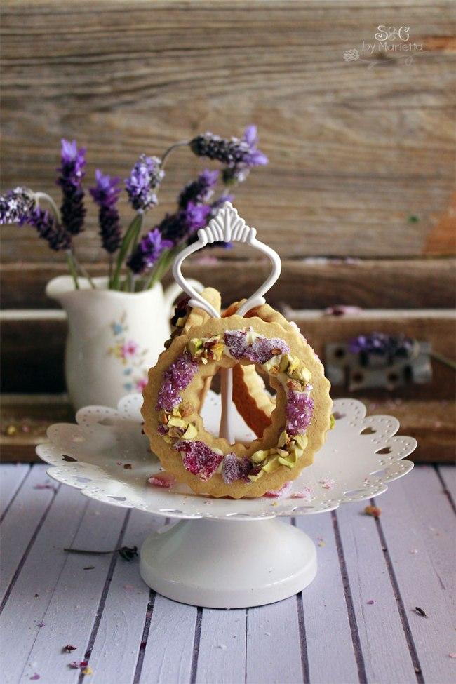 galletas para niños, recetas de galletas, lavanda, Galletas lavanda, Cookies lavander, Shortbread lavender biscuit, galletas románticas,Retos que rico mami