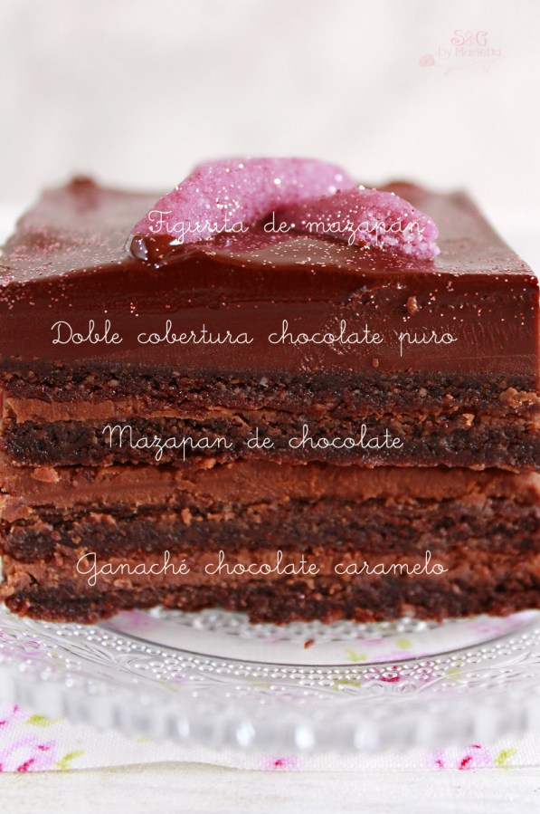 Mazapán chocolate, ganache chocolate, cancer de mama, cancer mujeres, recetas con chocolate, sweets and gifts, chocolate Valor