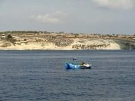 Luzzu - colorfull maltese fishing boat