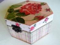 Handmade decoupage box