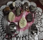 chocolate covered spoon